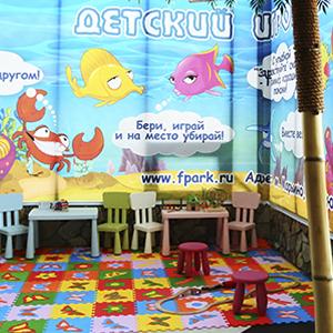 Детский уголок в аквапарке